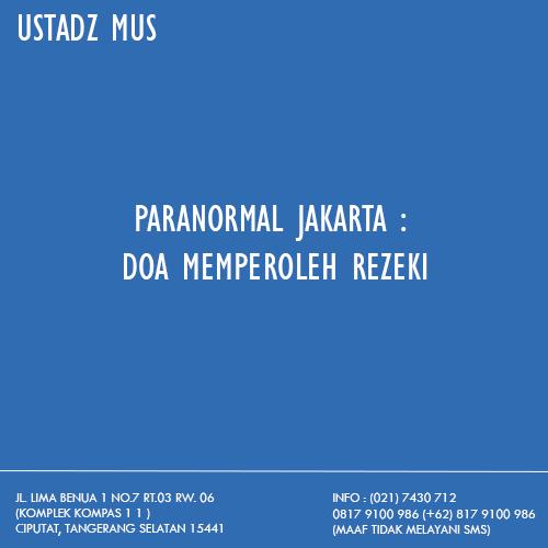 Jasa Paranormal Jakarta